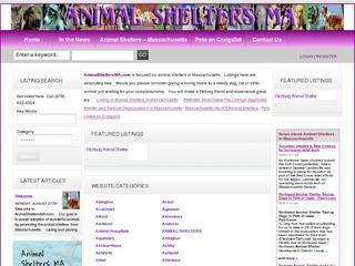 Pets On Craigslist South Shore Animal Shelters Rescues Ma